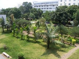 Our beautiful campus in Longzhou.