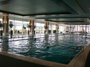 My exercise station pick: The 25 meter pool!