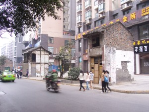 The old Luzhou, quickly fading.