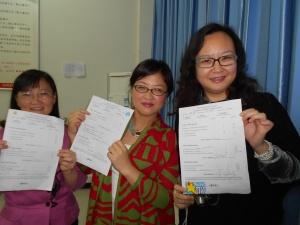 Our participants:  Success!
