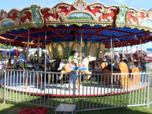 $5.00 a person allowed anyone to enjoy as many rides as wanted, including parents with their kids.