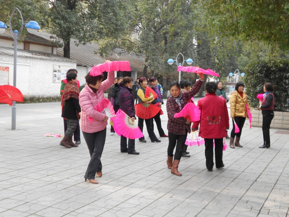 At the Park, Christians Practice for Church Performance Celebrations  (1/2)