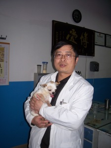 Dr. Qiu and Xiao Lao-lao, 5 years ago