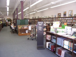 The Marshall Public Library has free Wi-fi, computers with Net access and lots of books to enjoy
