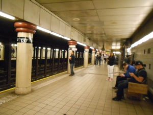 The new, improved NYC subway:  safe, clean, convenient and cheap.