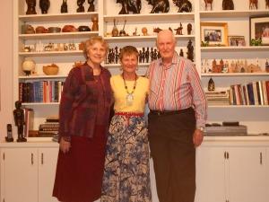 Dearest friends, Lilburne and Bill Senn, both former UM missionaries overseas.