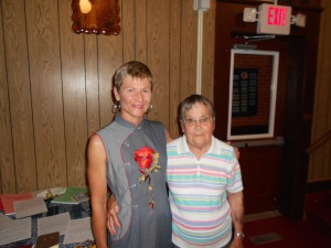 At Shelbyville, I met up with one of my oldest and dearest friends, the sprite and lively Joan Miller.