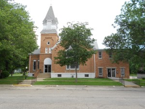 The Mason City church, although this is not where we met.