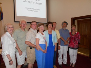 Joined by Galesburg First UMC members