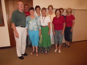 Members from Mt. Vernon First UMC joined in with Epworth members.