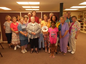 Lewistown UMC evening potluck