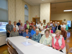 Pittsfield UMC had quite a turn-out for my last long-distance presentation.