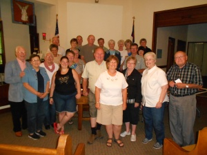 An evening at Waynesville UMC