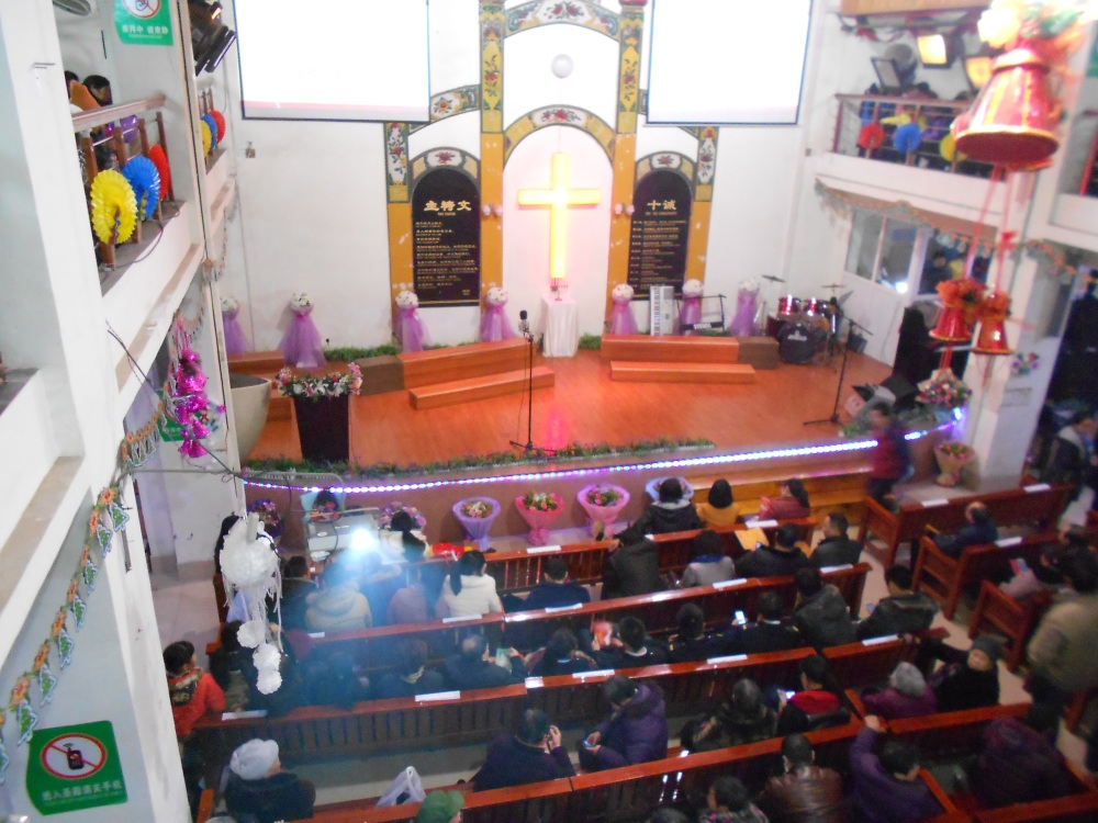 Christmas Eve at the Luzhou Protestant Church (1/6)