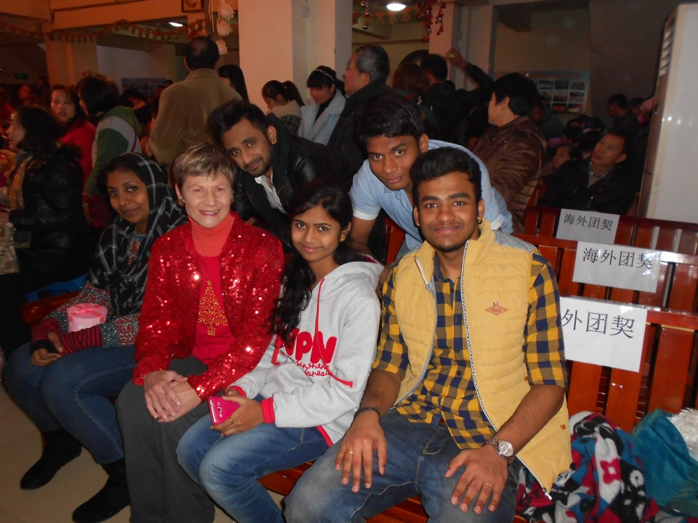 Christmas Eve at the Luzhou Protestant Church (6/6)