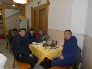 My Chengdu birthday celebration with the young folk.