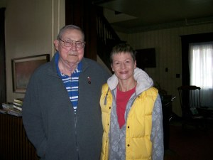 Me and my Dad, Valentine's Day, 2013 while I was in Marshall for my Chinese New Year vacation