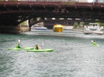 Kayak tours could be taken along the river canals.