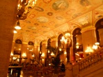 The Palmer House Hotel lobby, worthy of a visit.