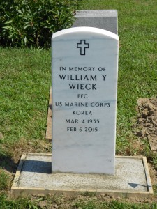 My dad, William Y. Wieck