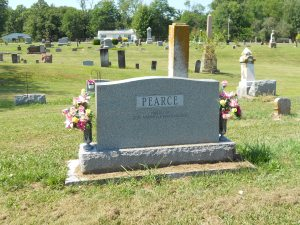 Frank Pearce, here with his wife, will be visiting with my dad this evening, no doubt.