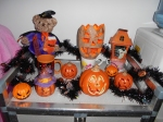 Happy Halloween, Everyone!  A little display in my new home.