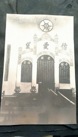 The sanctuary in 1913