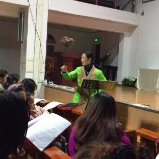 Choir Director Zheng